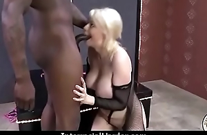 Girl Takes Huge Black Dong 1