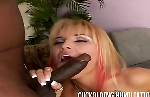 I will ride a big black cock while you watch from the corner